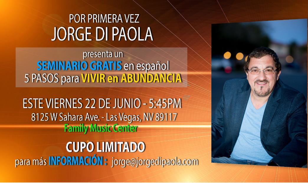 Por Primera Vez – Jorge Di Paola